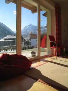 View to Kitz from living room