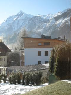 View to Kitz from garden