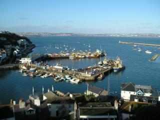 Harbour Reach has amazing sea views and is just 10 mins walk from beach & town.