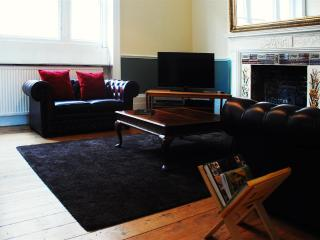 Living Room - the old banking hall