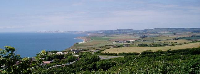 view along coast towards Freshwater Bay