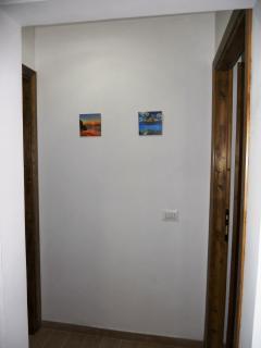 ingresso di due appartamenti