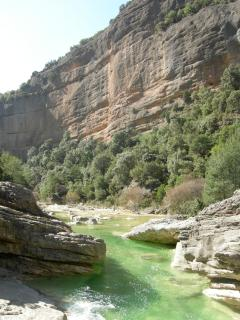 canyon of the rio Vero