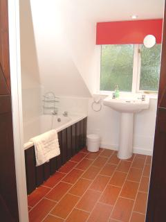 Double bedroom upstairs en-suite