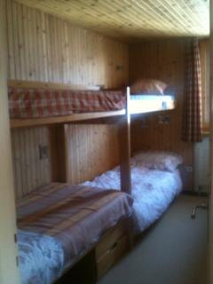 The other bunk room, sleeps 3