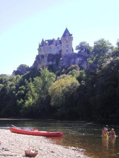 Our secret Dordogne river swimming & BBQ spot - never busy even in July & August!