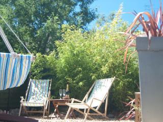 The sunny top garden