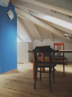 piccolo studio in mansarda