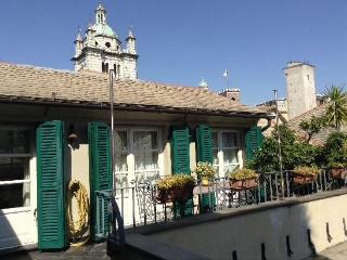 Attico romantico nel cuore della Genova
