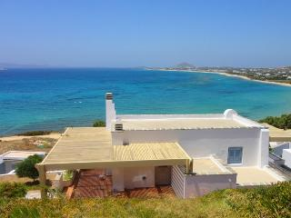 Villa Azure  on the beach Villa Paradise Plaka-Naxos