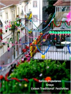 Lisbon Popular festivities in Graça (June)
