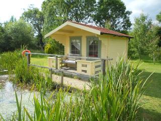 The love shack at Redlake farm near Glastonbury