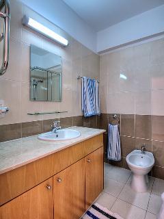 Master bedroom en suite with walk in shower.