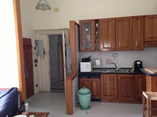 Entrance and kitchen