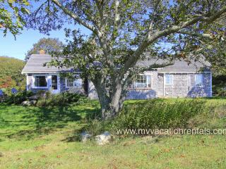 WHITP - 2 week minimum stay, Pristine Hilltop Ocean View, 1.2 Miles to Lucy, Chilmark