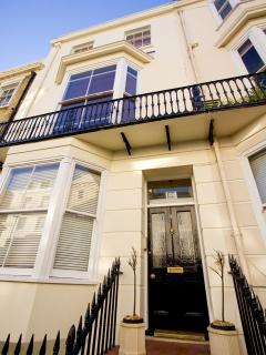 The regency entrance to your holiday home