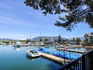 Private pier in Tahoe Keys, pools, beach and tennis, South Lake Tahoe