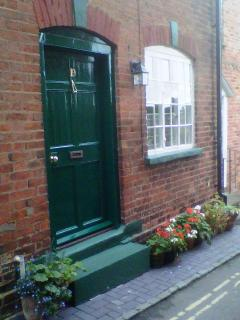 19 Upper Linney, always has flowers outside