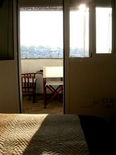 Acceso directo desde el dormitorio a la terraza