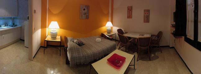 Salon con sofa cama de 150x190.