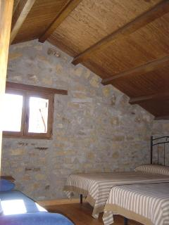 Dormitorio, todas las habitaciones disponen de ventana al exterior