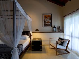 All bedrooms are air conditioned, although often the fan is enough to keep you cool