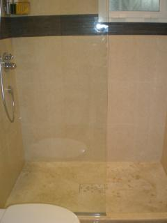 Wetroom style shower