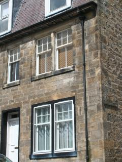 Number Two Murrell Terrace,a stone building that's over 100 years old