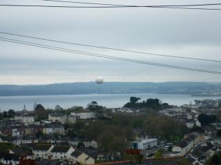 Fantastic Views over Torbay and Beyond. Take a trip in the Static Ballon