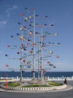 Windmill roundabout near Benal Beach