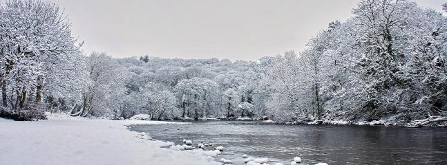 The River Wharfe at Ilkley, Beautiful at any time of year.