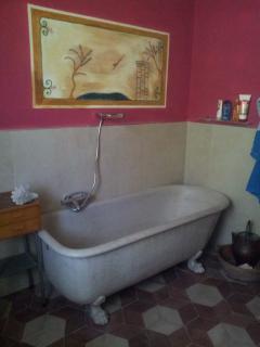 particolare di un bagno
