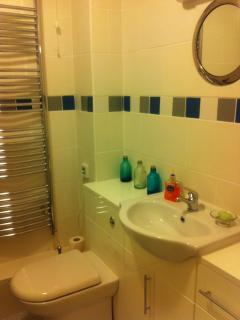 New modernised bathroom 1 ....wc, bath & shower