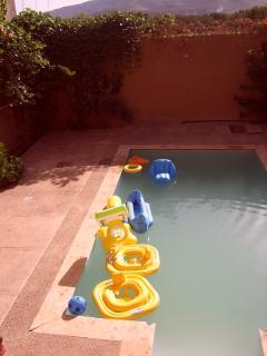 piscine de la villa