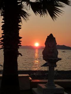 Beautiful Sunset in nearby Calis