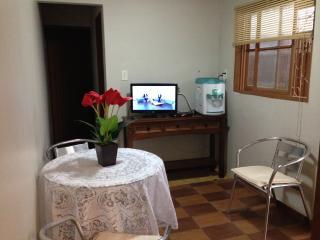 Hall de circulação interna com TV a cabo e filtro refrigerado