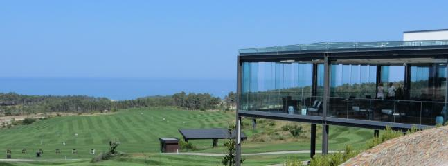 Royal Obidos golf resort, clubhouse restaurant/bar, fantastic views to the ocean, 5 minutes drive.