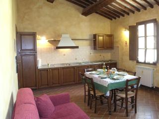 Tuscan holiday hotel apartment rental with sauna and swimming pool, San Dalmazio