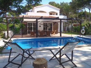 Casa Rockmorell (10 pers.) Cala Morell, Menorca