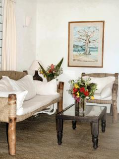 Sitting room Kualuka Cottage