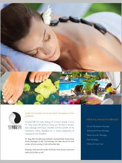 Resort have a 2spa and spas on the VIP harmony and VIP Serenity beach