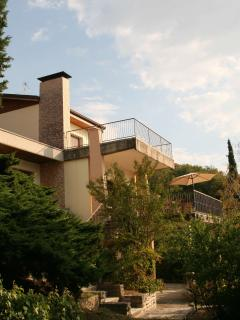 Villa Antonietta from its private garden