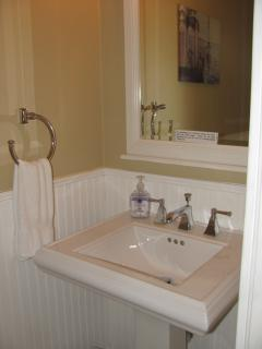 Downstairs Bathroom - Half Bath (sink and toilet only)