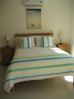 Fully air conditioned comfortable bedroom with 2 built in wardrobes