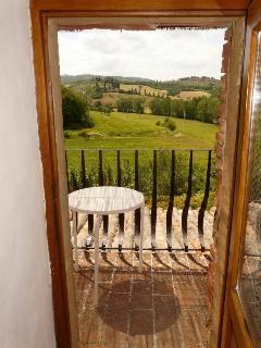 view from balcony-apartment rosmarino