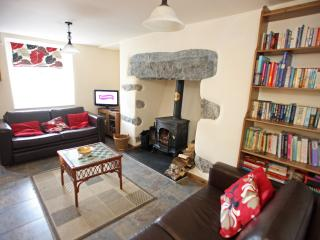 Cosy open plan living area