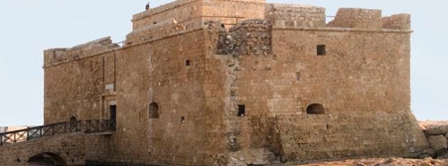 The historic Byzantine/Ottoman Paphos harbour fort