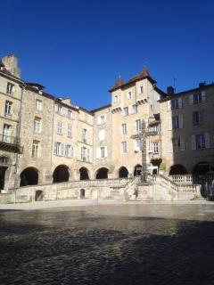 Not far away is Villefranche de Rouergues, one of many historic bastide towns.
