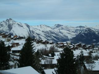 Winter views from the chalet