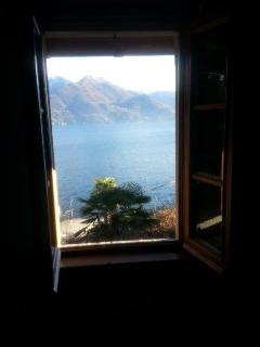 dalla prima finestra della camera matrimoniale